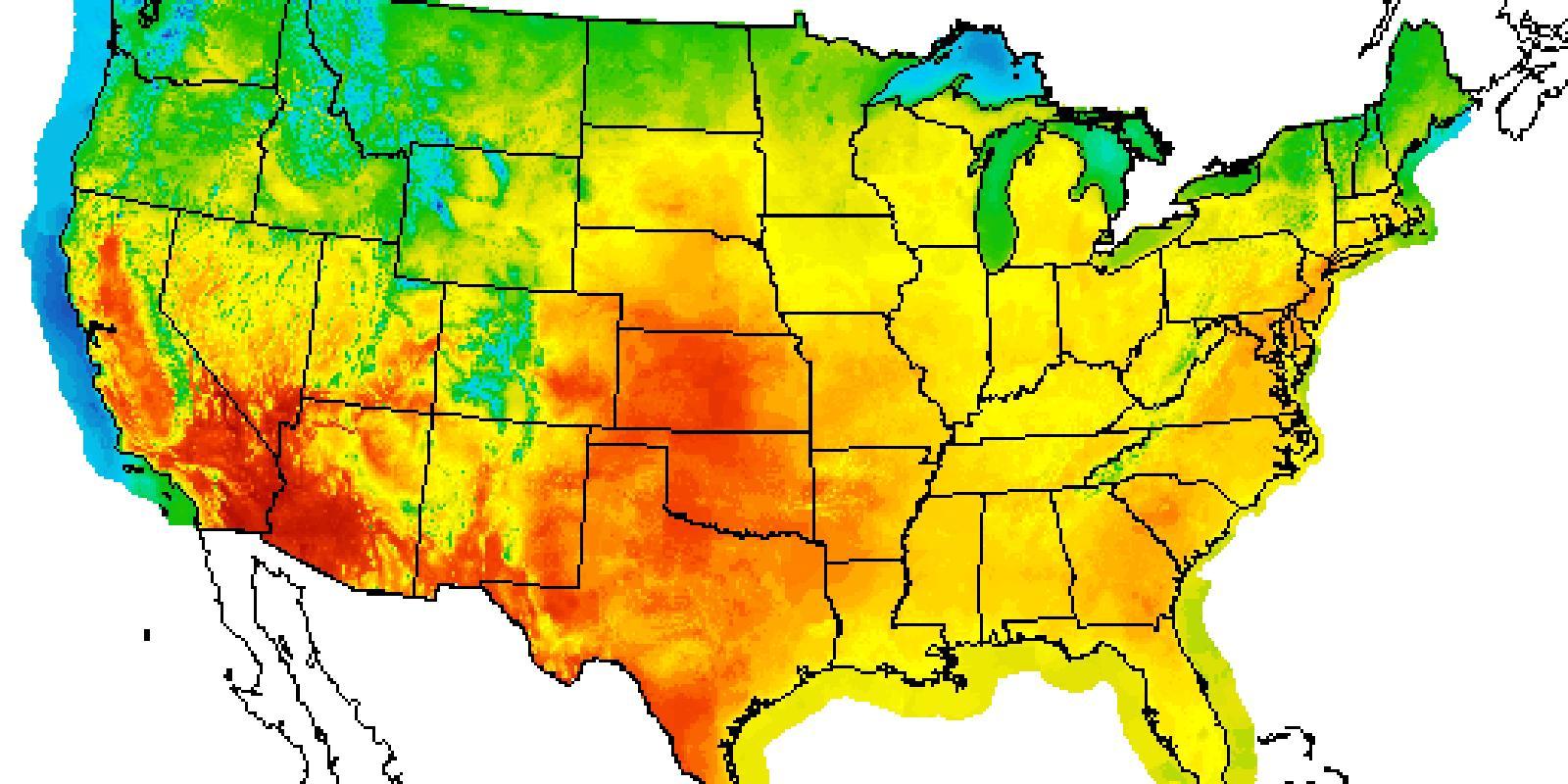 Usa Today Mapa Del Tiempo Mapa Meteorológico De Estados Unidos Hoy América Del Norte América